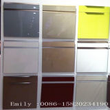 白いGlossy Kitchen Cabinet Door (Scratchの証拠)