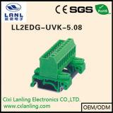 Conetor Pluggable dos blocos Ll2edg-Vk-5.08 terminais