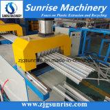 Extrusão plástica do grânulo de canto do perfil do PVC do nascer do sol que faz a máquina para a venda