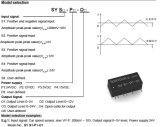 Pulso de velocidad del convertidor de señal IC Sy-S3 P2 -O1