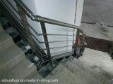 Pêche à la traîne de balcon de balustrade d'escalier de l'acier inoxydable 304