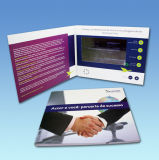 Carte de voeux vidéo à écran LCD de 7.0 pouces pour cadeau, promotion, publicité