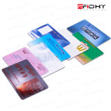 IDENTIFICATION RF sans contact par la carte de crédit Smart Card ISO15693 de la taille Cr80