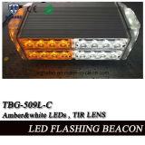 Lightbar (TBG-509L-2C)를 경고하는 호박색 최고 광도 소형 LED