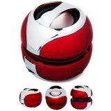 Altofalante profissional sem fio de Bluetooth da cor vermelha mini
