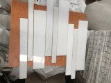 白い大理石のモザイク・タイル