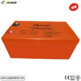 Batterie rechargeable 12V300ah de gel pour l'énergie solaire