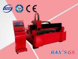 machine de découpage de laser de fibre de plaque d'acier du carbone d'acier inoxydable de 500With1500W Wuhan