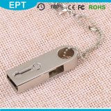 Metal Keychain Swivel 64GB 128GB OTG USB Flash Drive (TJ126)