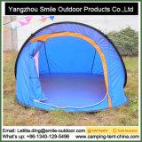Barraca dobrável de acampamento da pesca impermeável portátil para a pessoa 4