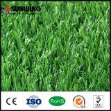 Grüner synthetischer künstlicher Gras-Rasen des Fabrik-Großverkauf-30mm mit SGS