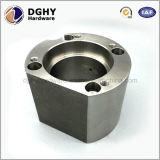 Части Lathe машинного оборудования металла CNC точности центральные, части машинного оборудования CNC