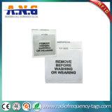 Etiquetas de alta frecuencia tejidas de la voz pasiva RFID para la gerencia de la ropa