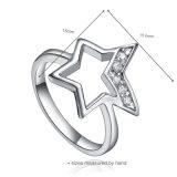 Nuovo anello unico prossimo dell'argento sterlina 925 per le signore (R-0598)