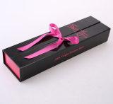 Коробка изготовленный на заказ волос печатание упаковывая с тесемкой