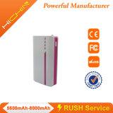 Banco caliente 7500mAh de la energía del teléfono móvil de la venta