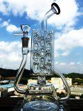 Reciclador da venda por atacado da fábrica de China 3 camadas de tubulação de fumo de vidro da plataforma petrolífera