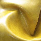 Couro de imitação da cera do petróleo para a mobília, sofá (498#)