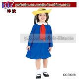Costume costumé d'usager d'horreur de Veille de la toussaint de garçons de garçon d'école de zombie de gosses (COS8082)