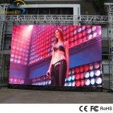 Affichage vidéo multi de haute résolution de la couleur P6.67 DEL extérieur avec recevoir la carte pour annoncer la location