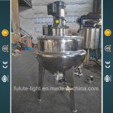Récipient de mélange revêtu d'acier inoxydable
