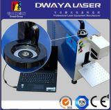 машина маркировки лазера волокна 50W для Acrylic кольца ручки