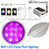 Piscina Light DIP Lamp Remote Controller 12V do diodo emissor de luz do poder superior 18W RGB de DMX PAR56