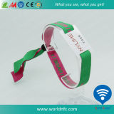 Wristbands Ultralight tecidos RFID de NFC