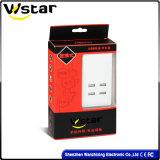 Carregador rápido esperto dos acessórios do telefone com 4 portas do USB