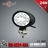 6 pollici 24W Round LED Car Work Driving Light (SM-6024-RXA)