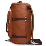 Кожаный Backpack мешка викэнда мешка гимнастики мешка перемещения