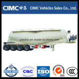 Petroleiro quente do cimento da venda Cimc 3-Axles 50cbm para Oman