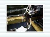 Corte del laser y máquina de grabado para la ropa de cuero
