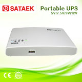 Ajustable 5V-12V Outputの小型DC UPS