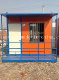 Neuester Falz-bewegliches vorfabriziertes/Fertigbehälter-Haus für das Leben