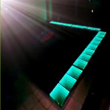 Wederzijdse Complementation LED 3D Infinite Light op Dance Floor