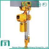 Grua Chain elétrica elevada de eficiência de funcionamento