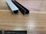 Het hete Spoor van het Gordijn van het Aluminium van de Verkoop Glijdende met variërt de Kleuren van de Deklaag van het Poeder