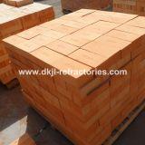 Briques réfractaires rouges à haute densité de porosité inférieure pour des fours de chauffage
