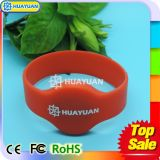 Bracelete da microplaqueta RFID do sistema de pagamento MIFARE de Cashless DESFire EV1 2KS