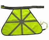 Veste elevada do animal de estimação da visibilidade para o aviso da segurança do animal de estimação