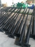 Garten Light Pole CER-ISO-RoHS 6m Hot Galvanized