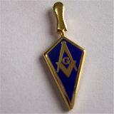 최신 판매 흙손 Masonic 접어젖힌 옷깃 Pin