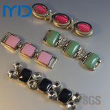 Rhinestone Acrylic Shoe Accessory Chain Buckle per Lady Shoe