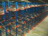 Estantes de radio del almacenaje del almacén del metal de la lanzadera