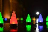 Solare dell'indicatore luminoso della decorazione del giardino di natale del LED alimentato
