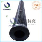 Saco de filtro plissado do poliéster do coletor de poeira PTFE