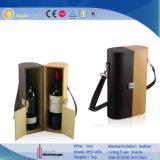 Rectángulo de almacenaje de cuero del vino de la PU (5514R3)