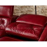 Электрическая софа кожи Recliner (899#)