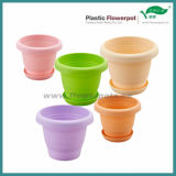 カラー円形の植木鉢(KD5301N-KD5305N)